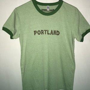 Women's Portland T-Shirt in Green